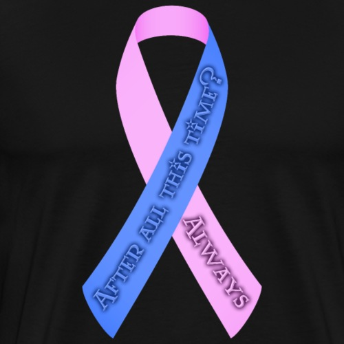 After All This Time Pregnancy & Infant Loss Ribbon - Men's Premium T-Shirt