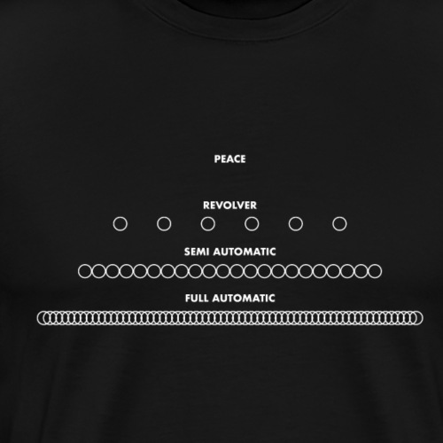 The rate of peace. - Men's Premium T-Shirt