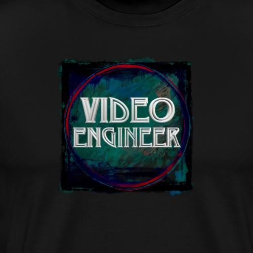 Video Engineer New Design - Men's Premium T-Shirt