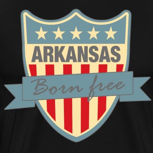Arkansasshield Born Free Ramirez - Men's Premium T-Shirt