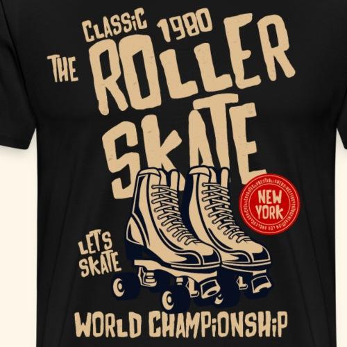 Classic Roller Skate - Men's Premium T-Shirt
