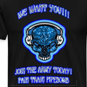 Pain Train Recruit Army - Men's Premium T-Shirt