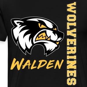 Go Walden Wolverines! - Men's Premium T-Shirt