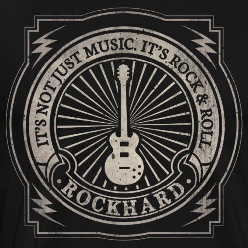 Rockhard - Men's Premium T-Shirt
