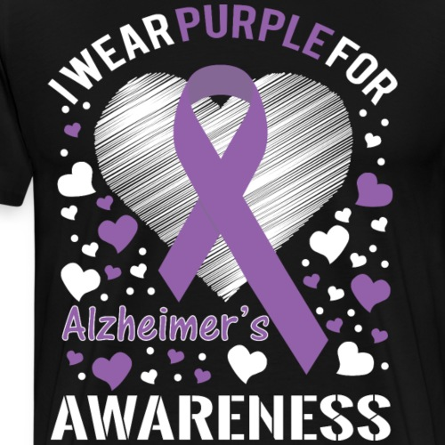Alzheimers Awareness - Men's Premium T-Shirt
