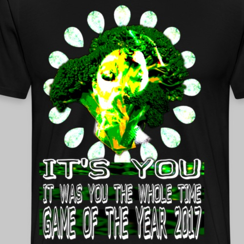 Game of the Year 2017 shirt - Men's Premium T-Shirt