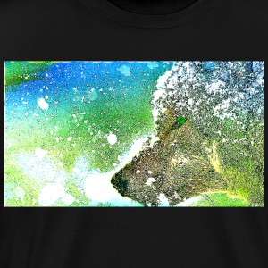 Colorful Wolf - Men's Premium T-Shirt