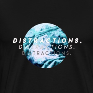 i can see you're looking for distractions - Men's Premium T-Shirt