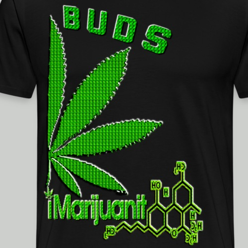 Best Buds iMarijuanit2 - Men's Premium T-Shirt