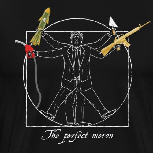 Anti Trump Design :the perfect moron - Men's Premium T-Shirt