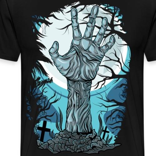 Zombie Hand Horror - Men's Premium T-Shirt