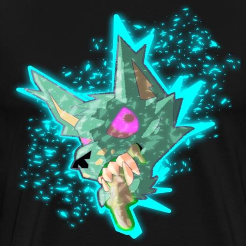 Energizing Ooze Mutt - Men's Premium T-Shirt