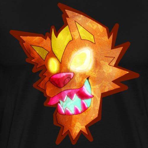 Dragon Mouth Mutt - Men's Premium T-Shirt