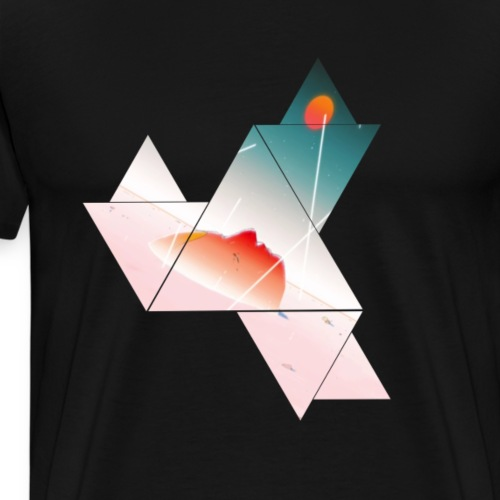 Abstract shape T-Shirt for all - Men's Premium T-Shirt