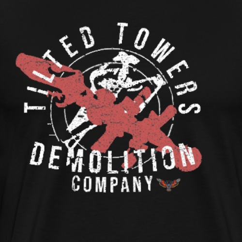 "FORTNITE - ""TILTED TOWERS DEMOLITION COMPANY"" - Men's Premium T-Shirt"