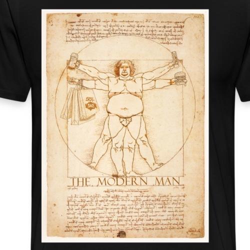 Leonardo Davinci Modern Man - Men's Premium T-Shirt
