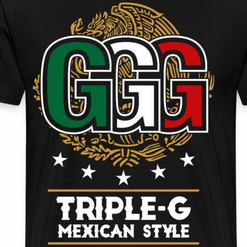 Triple G mexican style - Men's Premium T-Shirt