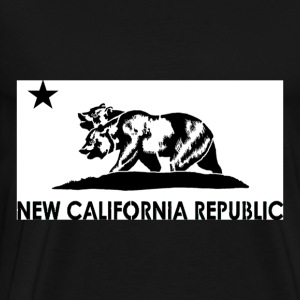 New California Republic Graphic Tee - Men's Premium T-Shirt