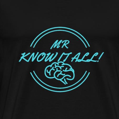 MR KNOWITALL - Men's Premium T-Shirt