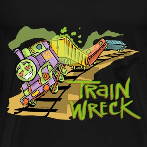 TRAINWRECK - Men's Premium T-Shirt