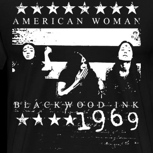 American Woman - Men's Premium T-Shirt