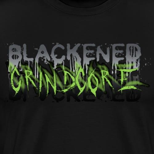 BLACKENED GRINDCORE - Men's Premium T-Shirt