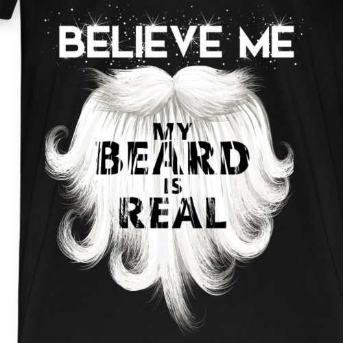 christmas_t_shirt_beard_tshirt - Men's Premium T-Shirt