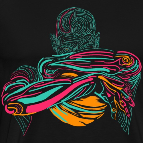 San Antonio Champ Fiesta - Men's Premium T-Shirt
