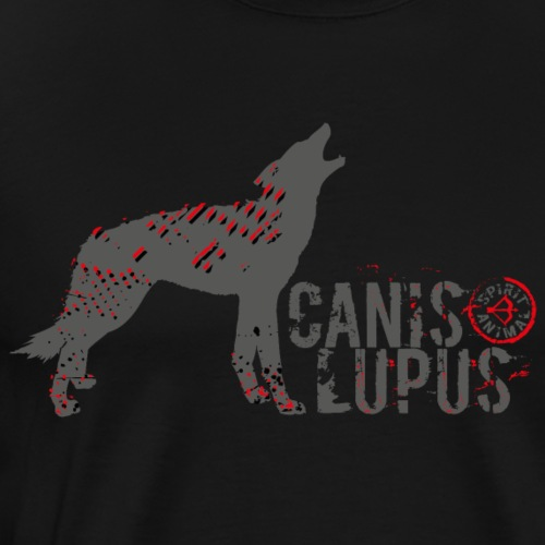 Spirit Animal Wolf (Archery by BOWTIQUE) - Men's Premium T-Shirt