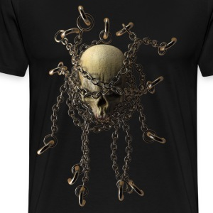 Chain Skull - Men's Premium T-Shirt