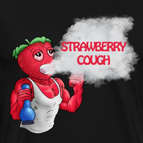 Strawberry cough - Men's Premium T-Shirt