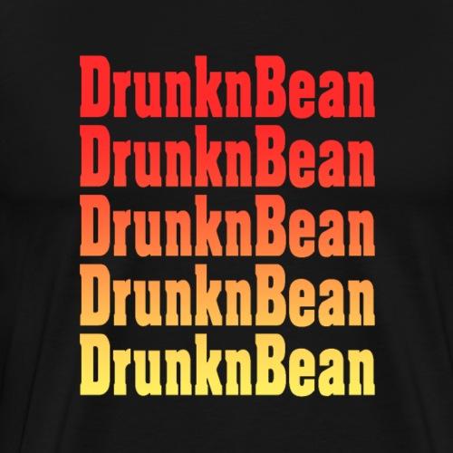 DrunknBean Warm logo - Men's Premium T-Shirt