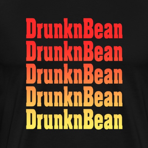 DrunknBean Warm logo - Men's Premium T-Shirt