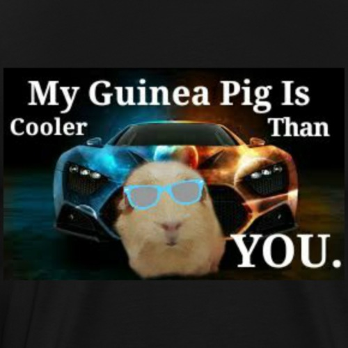 One Cool Guinea Pig - Men's Premium T-Shirt