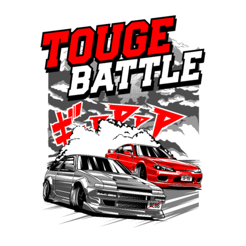 TOUGE BATTLE - Men's Premium T-Shirt