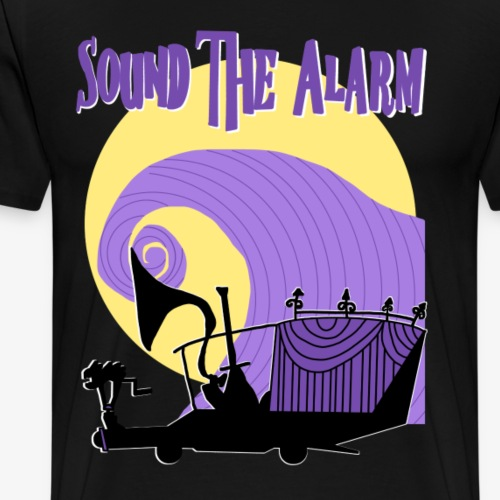 Sound the Alarm - Men's Premium T-Shirt