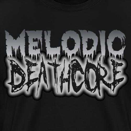 MELODIC DEATHCORE - Men's Premium T-Shirt