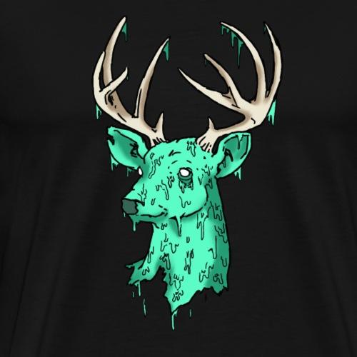 Deer Logo - Men's Premium T-Shirt