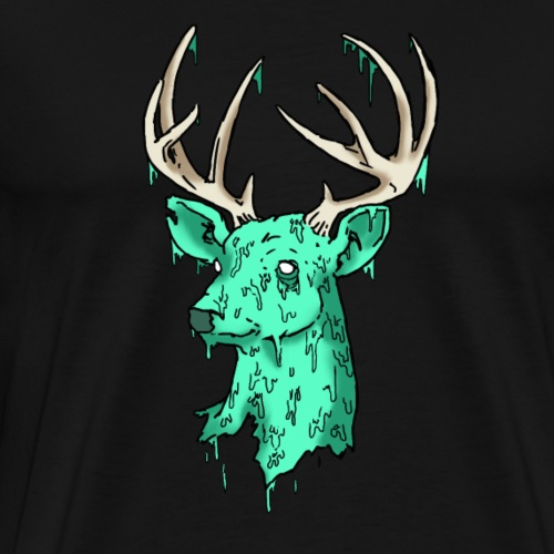 Deer Logo - Men's Premium T-Shirt