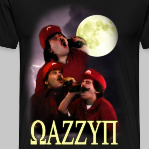 WAZZUP shirt - Men's Premium T-Shirt