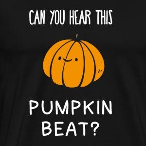 Halloween Pumpkin Beat Fun Shirt - Men's Premium T-Shirt