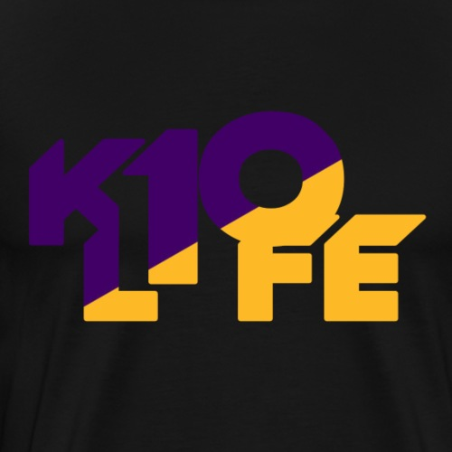 k10life purple and gold - Men's Premium T-Shirt
