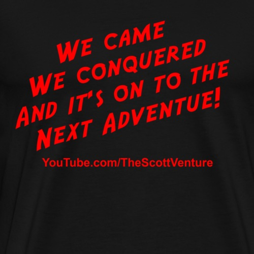 The Scott Venture Slogan - Men's Premium T-Shirt