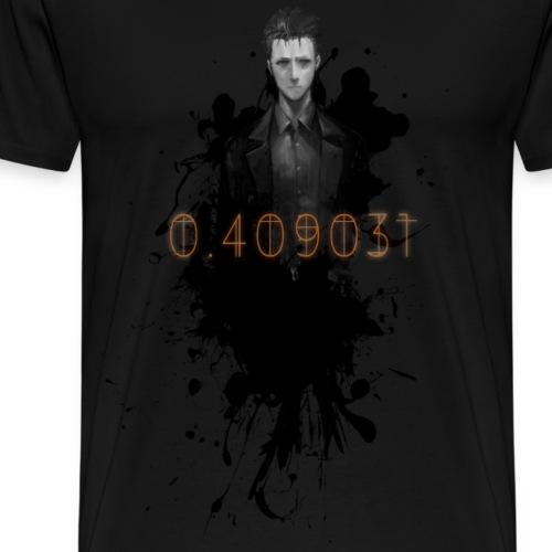 Steins;Gate l Okabe - Men's Premium T-Shirt