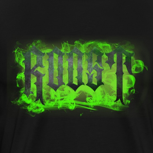 Roost Logo Green Smoke - Men's Premium T-Shirt