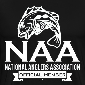 Official National Anglers Association Member - Men's Premium T-Shirt