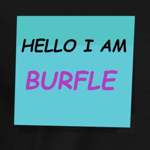 THE BURFLE - Men's Premium T-Shirt