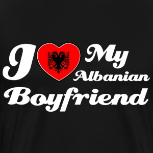 Albanian Boyfriend designs - Men's Premium T-Shirt