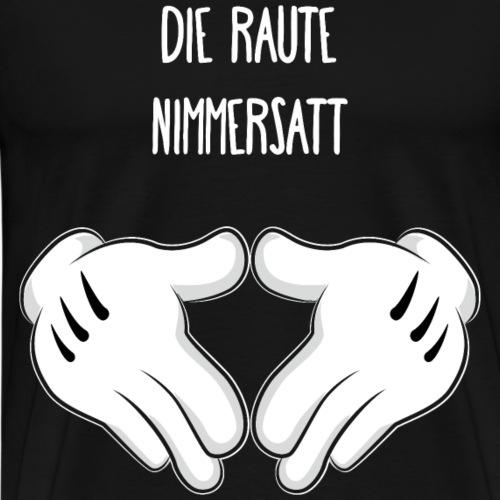 Die Raute Nimmersatt - Men's Premium T-Shirt