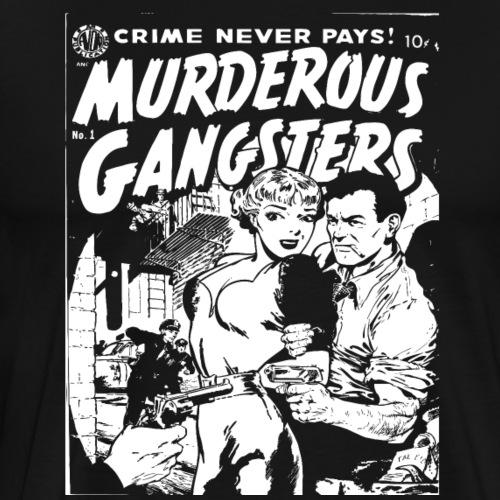 gangsters - Men's Premium T-Shirt